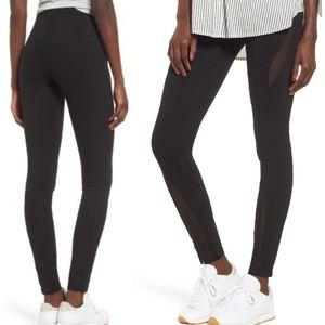 BP. Mesh Inset Leggings Small Black Casual Tights